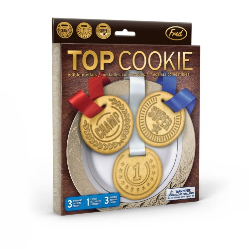 Foremki do wykrawania medale Top Cookie Fred & Friends FR2181